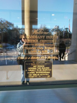 St Tammany Justice Center 701 N Columbia St Covington, LA