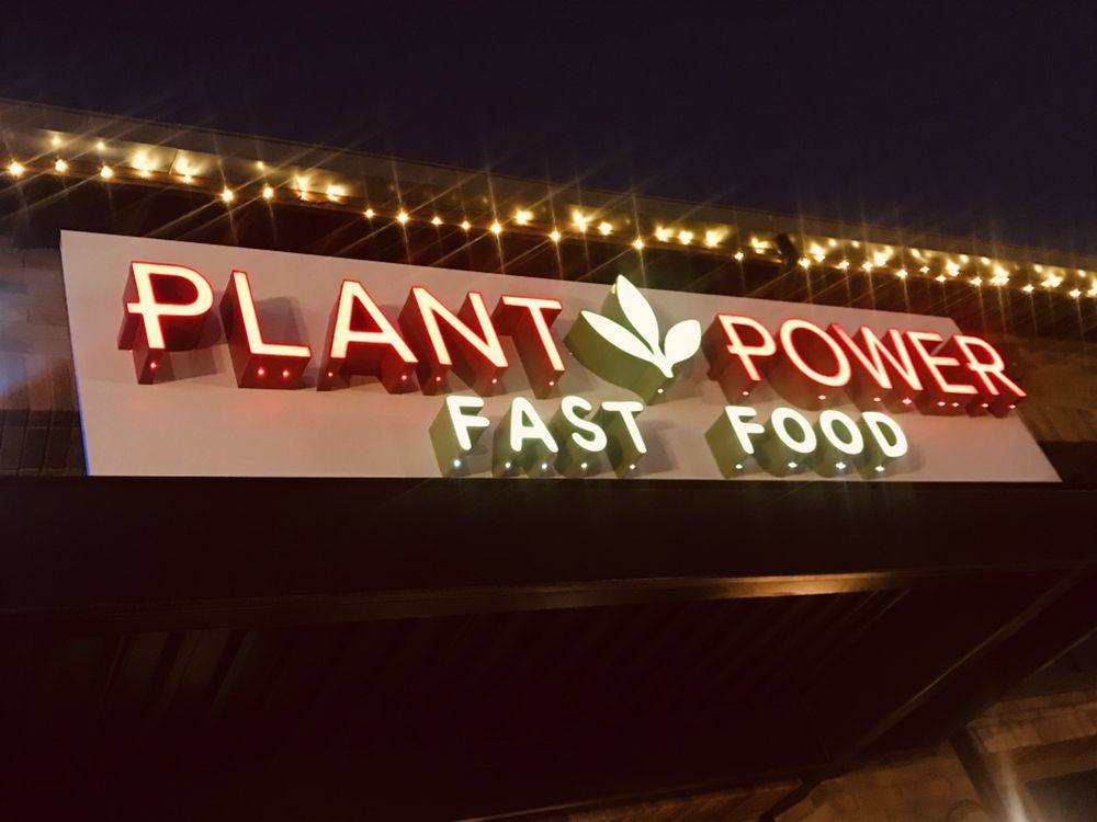 Plant Power Fast Food: 450 W Stuart Ave, Redlands, CA