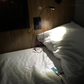 Photo of Cabin   San Francisco  CA  United States  Little USB booklight you. Cabin   16 Photos   17 Reviews   Buses   700 4th St  Mission Bay