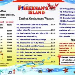 Fisherman S Island Menu Chicago