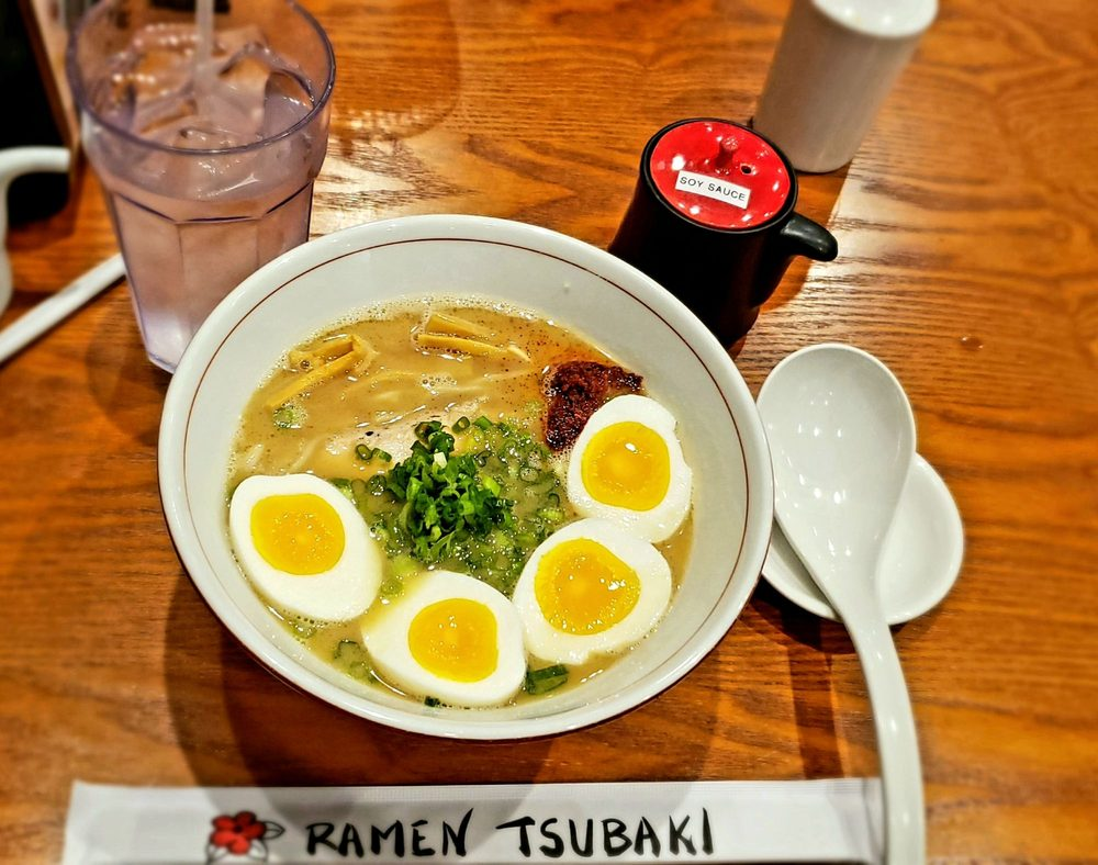 Food from Ramen Tsubaki