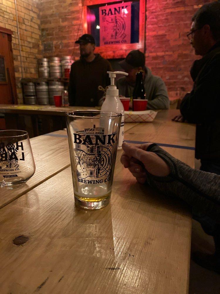 Bank Brewing Company: 200 S Main St, Hendricks, MN