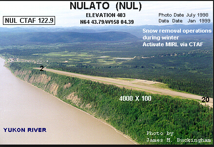 Photo of Nulato Airport: Nulato, AK
