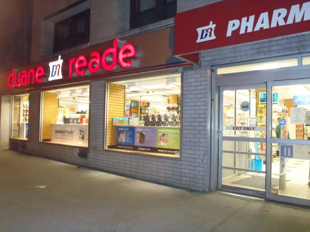 Duane Reade Closed Drugstores 1082 2nd Ave Midtown East New