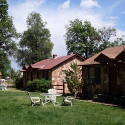 Photo Of Grand Canyon Motel Fredonia Az United States Court Yard