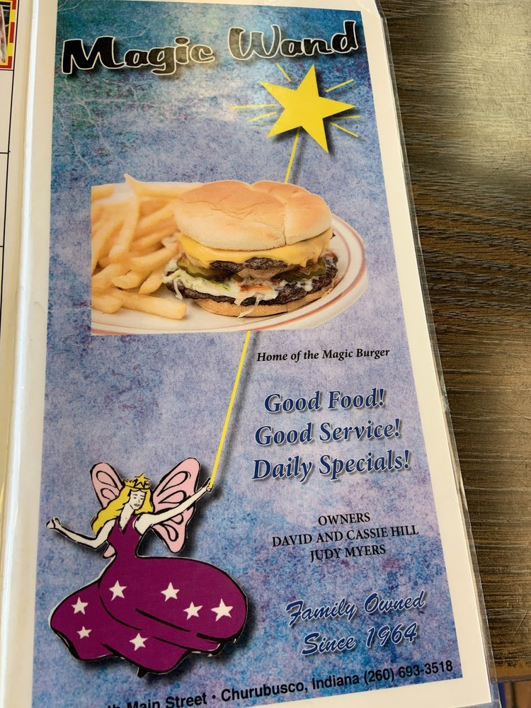 Magic Wand Restaurant: 602 S Main St, Churubusco, IN