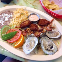 Photo Of Mariscos 7 Mares Columbus Oh United States The Combination Plate