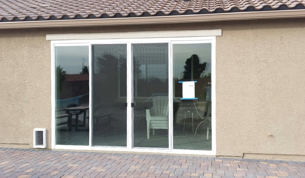 Great Enclose Your Patio With A Magnificent 12 Foot Wide And 8 Foot Tall 4 Panel  Sliding Glass Door! (After)   Yelp
