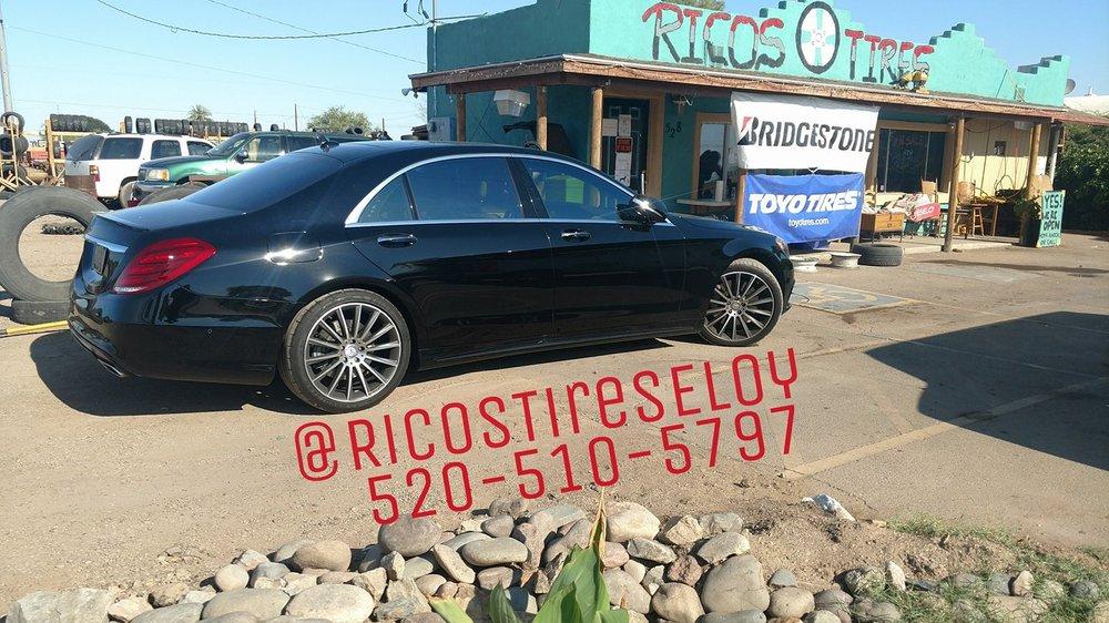 Rico's Tires: 528 S Sunshine Blvd, Eloy, AZ