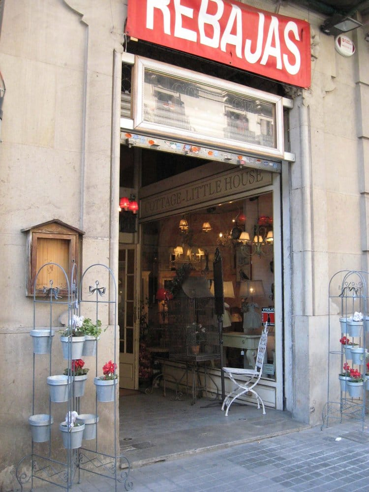 Little house tienda de muebles carrer del rossell 259 l 39 eixample barcelona espa a - Registro bienes muebles barcelona telefono ...