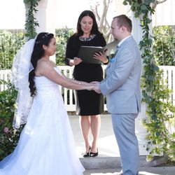 Officiant for Wedding Dress