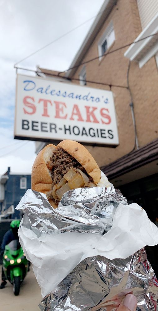 Food from Dalessandro's Steaks and Hoagies