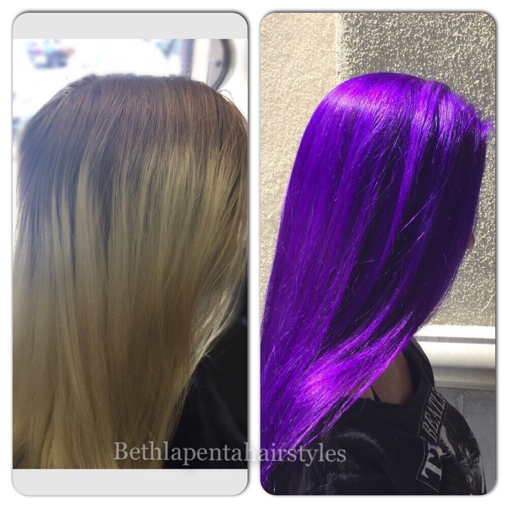 Pravana Vivids In Violet Fun Summer Haircolor By Beth Lapenta Yelp