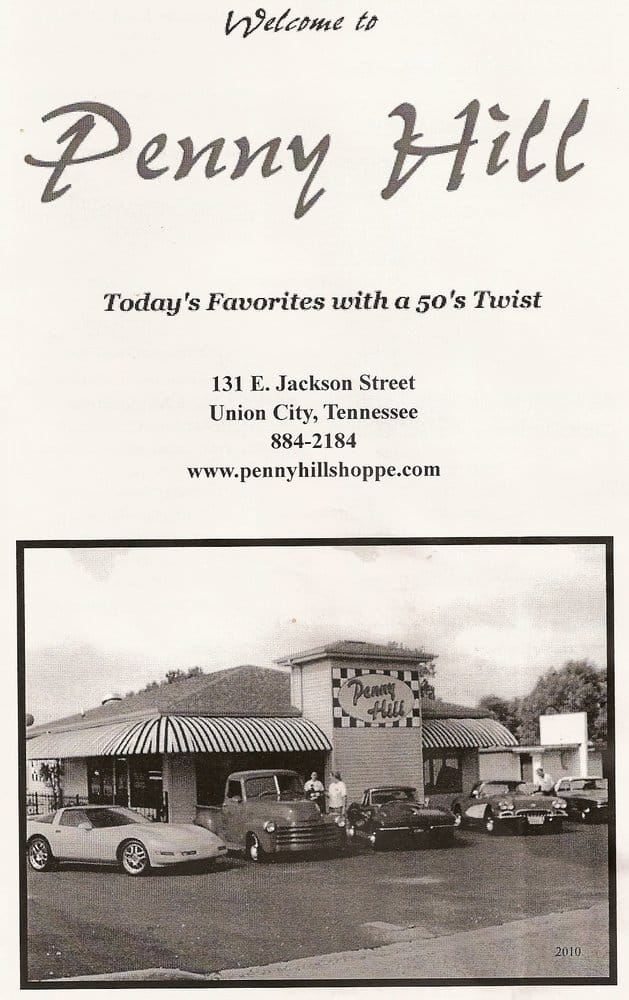 Penny Hill Shoppe: 131 E Jackson St, Union City, TN