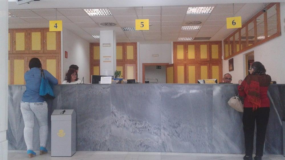 Correos oficinas de correos avenida cruz roja 35 for Oficinas ups madrid