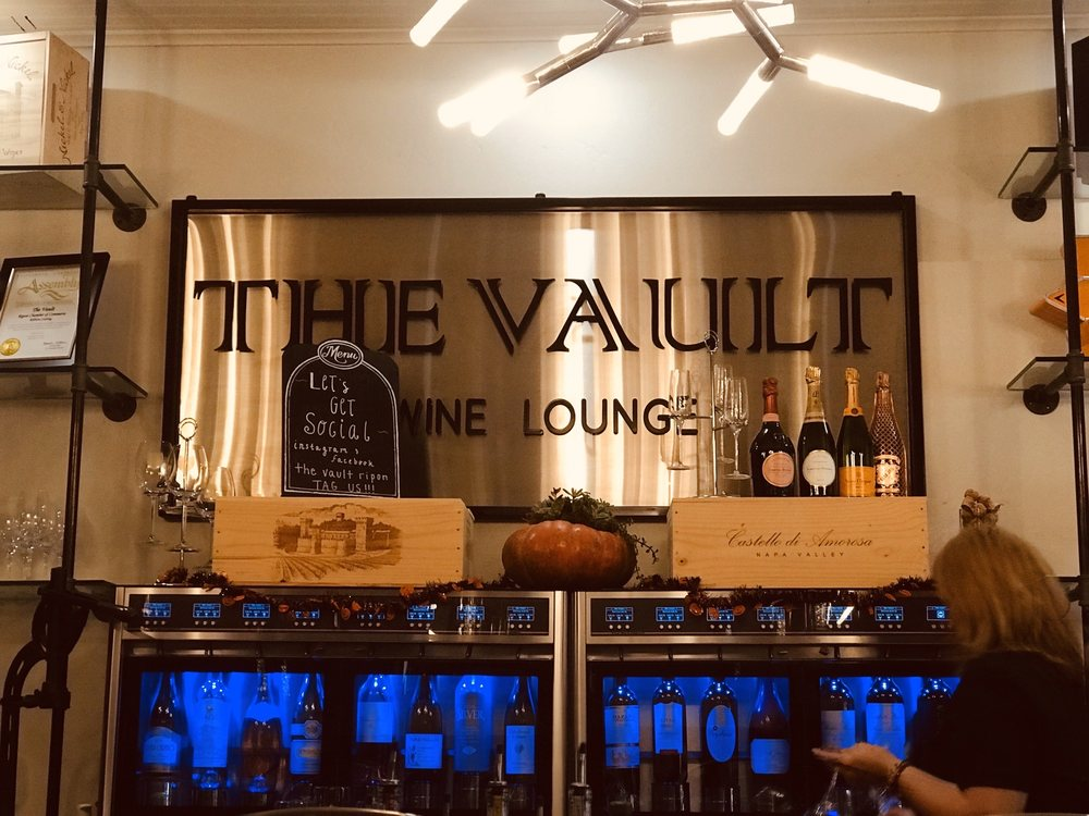 The Vault: 111 E Main St, Ripon, CA