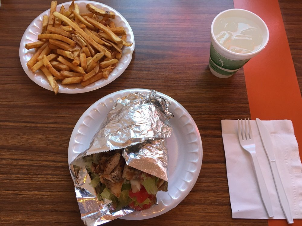 Yorgo's Gyros-Potatoes: 127 N 4th St, Steubenville, OH