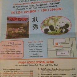 Panda House Chinese Restaurant Bergenfield