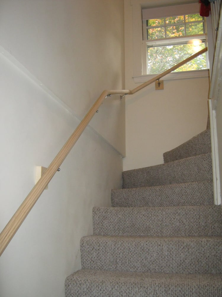 Auto Service Near Me >> Handrail on winding staircase. - Yelp
