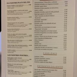Photos for 7 portes menu yelp for 7 portes barcelona menu