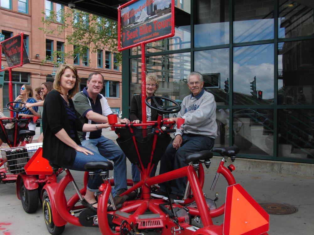 Milwaukee Seven Seat Bike Tours