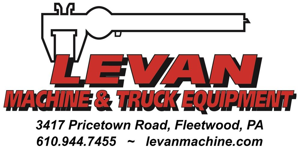 Levan Machine & Truck Equipment: 3417 Pricetown Rd, Fleetwood, PA