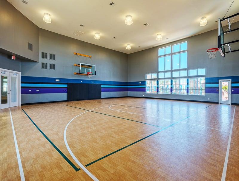 Great indoor basketball court at Arwen Vista Apartments - Yelp