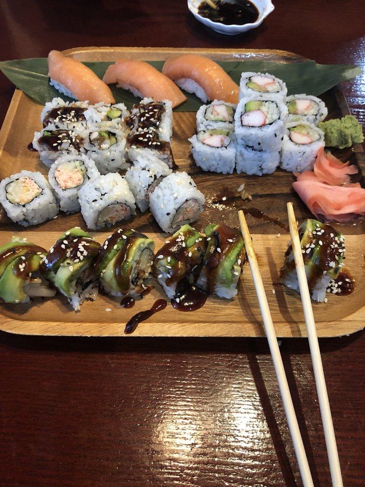Saki Japanese Sushi & Steakhouse: 202 W Broad St, Griffin, GA