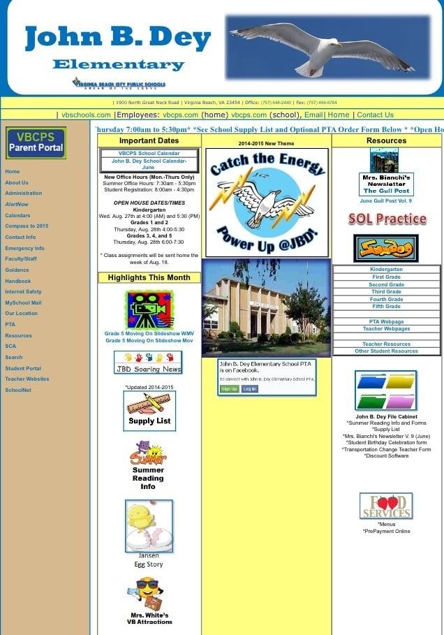John B Dey Elementary School