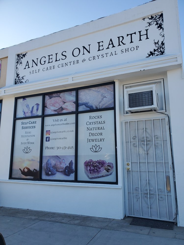 Angels on Earth Self-Care Center & Crystal Shop: 1025 N La Brea Ave, Inglewood, CA