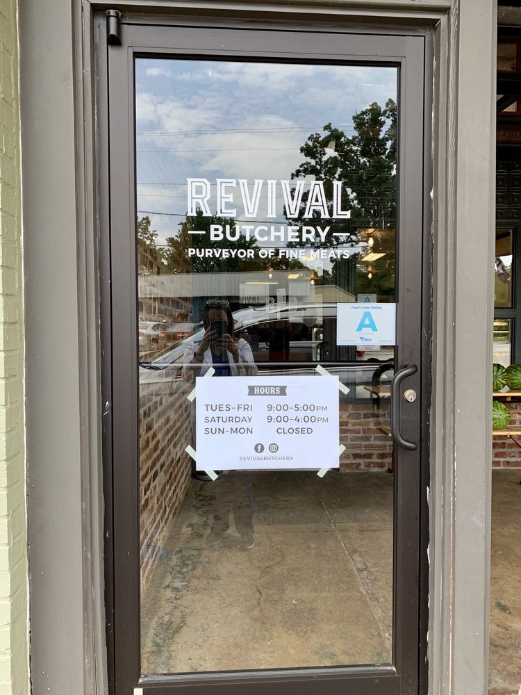 Revival Butchery: 1296 A Pendleton St, Greenville, SC