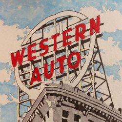 Western Auto Sign Sehenswürdigkeiten 2107 Grand Blvd Greater