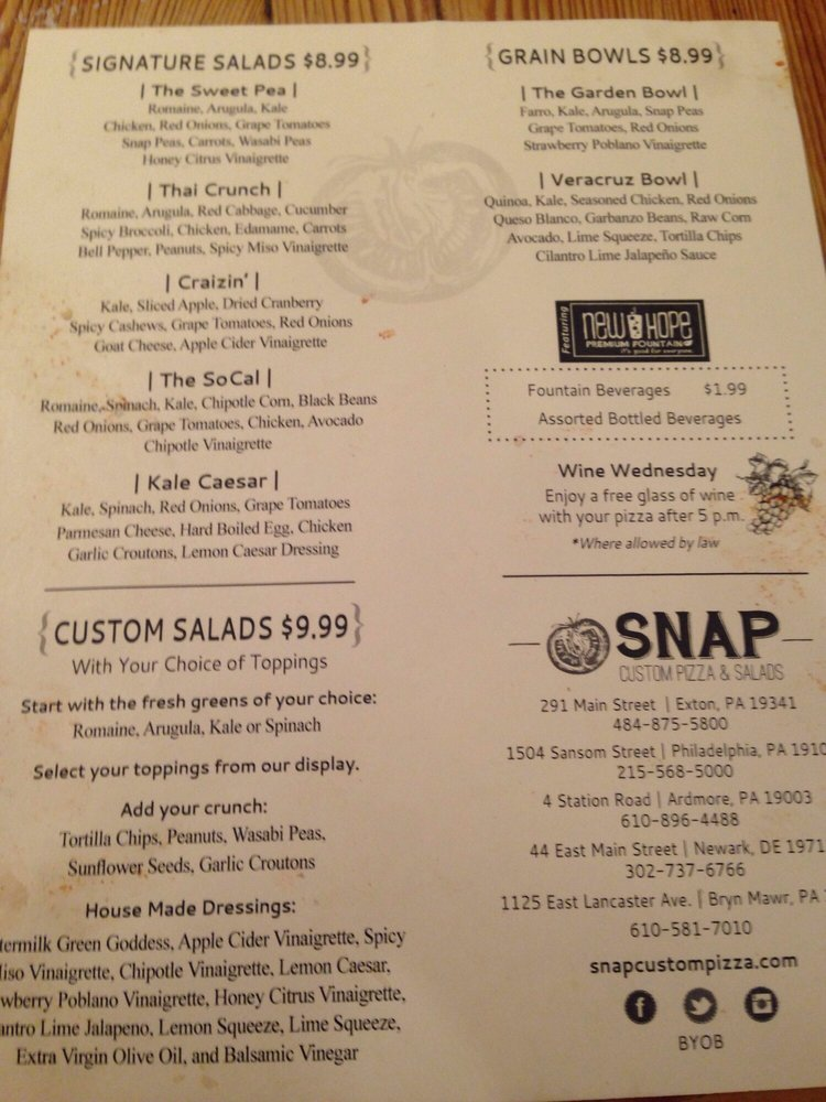 Snap Custom Pizza - CLOSED - 124 Photos & 193 Reviews