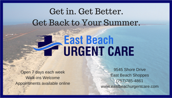 East Beach Urgent Care: 9545 Shore Dr, Norfolk, VA