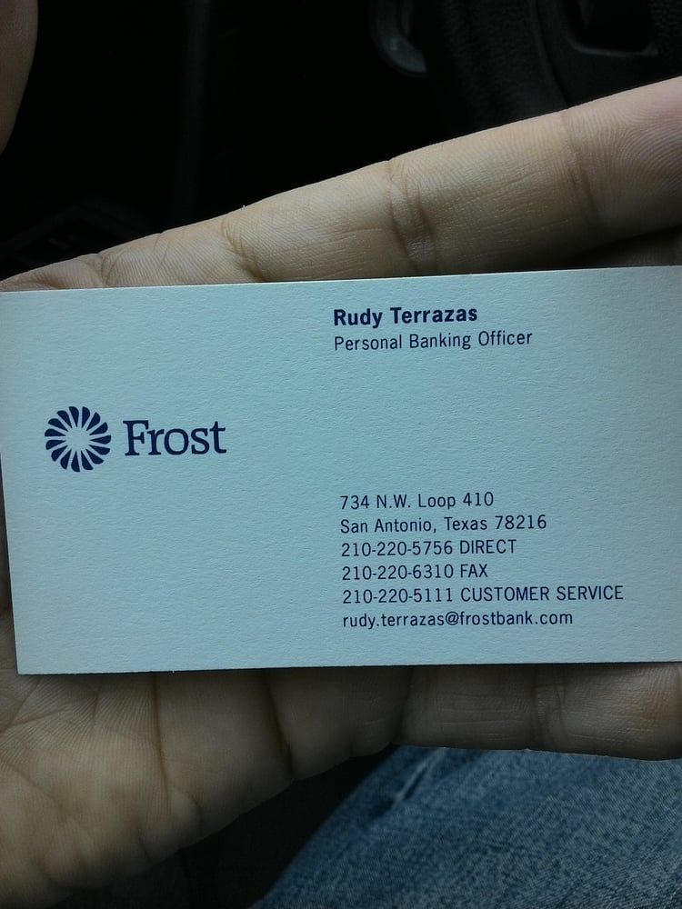 Frost Bank Banks Amp Credit Unions 734 Nw Loop 410 San