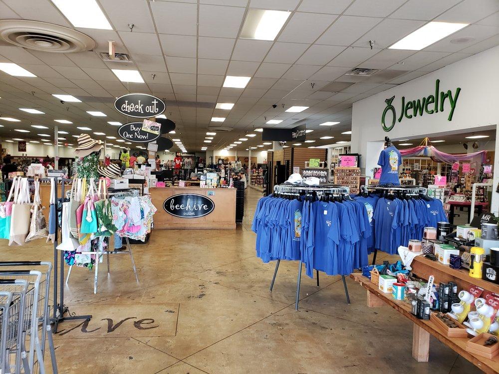Beehive Outlet: 213 N Service Rd E, Ruston, LA