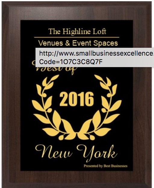 The Highline Loft: 508 W 26th St, New York, NY