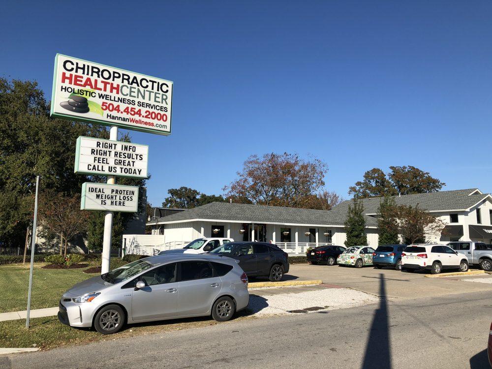Chiropractic Health Center & Hannan Wellness: 101 Clearview Pkwy, Metairie, LA