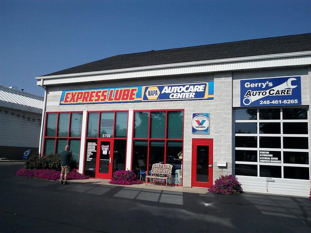 Gerry 39 s auto care 5700 dixie hwy waterford mi at for A b motors waterford mi