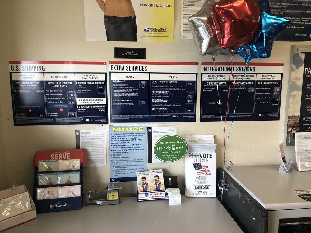 US Post Office: 20 Avenue Portola, El Granada, CA