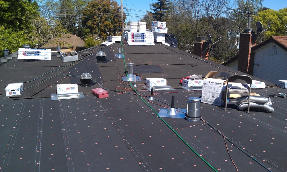 Photo Of Limey Roofing   Redwood City, CA, United States. Flat Roof And