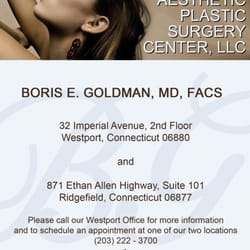 Photo of Aesthetic Plastic Surgery Center - Westport, CT, United States. Our satellite