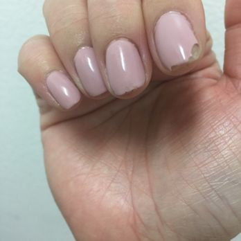 Photo Of Pink And White Nails Hayward Ca United States It S Only