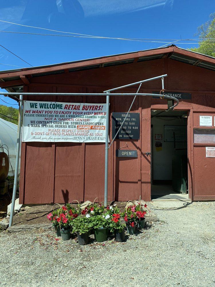 Henn's Plant Farm: 370 Lindsey Loop Rd, Fletcher, NC