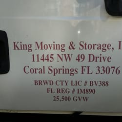 Photo Of King Moving And Storage   Coral Springs, FL, United States ...