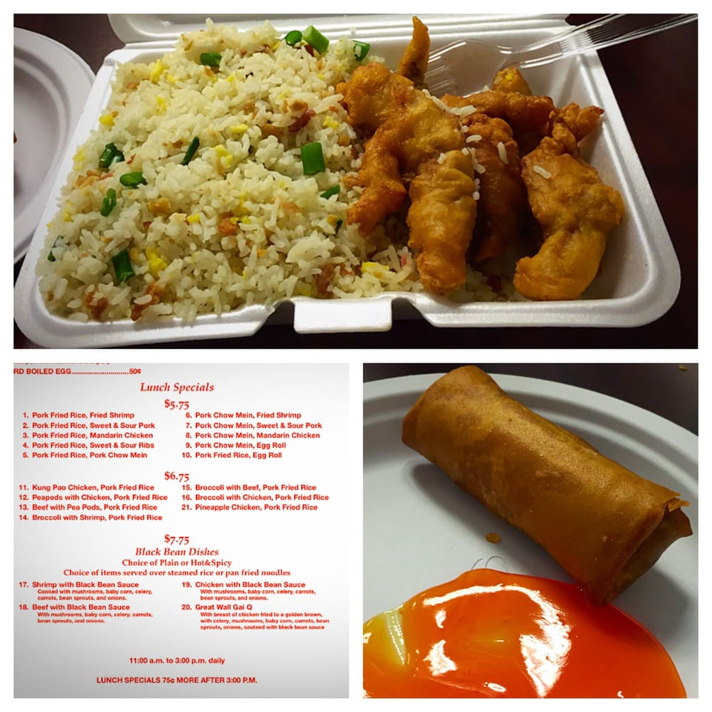 Great Wall Chinese Food Rapid City Sd