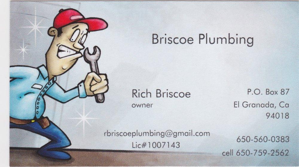 Briscoe Plumbing: El Granada, CA