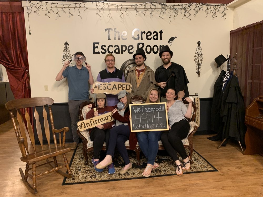 Social Spots from The Great Escape Room