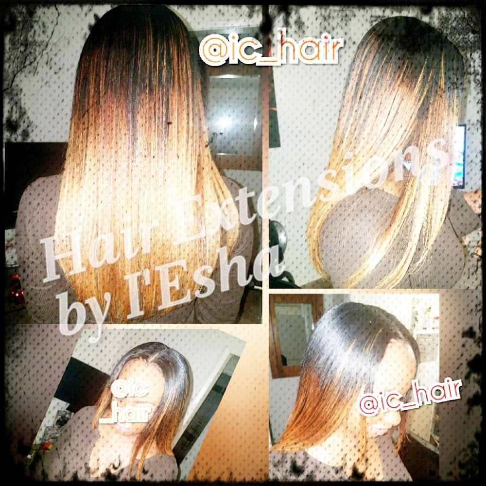 Sew In Weave With Minimal Leave Out Yelp