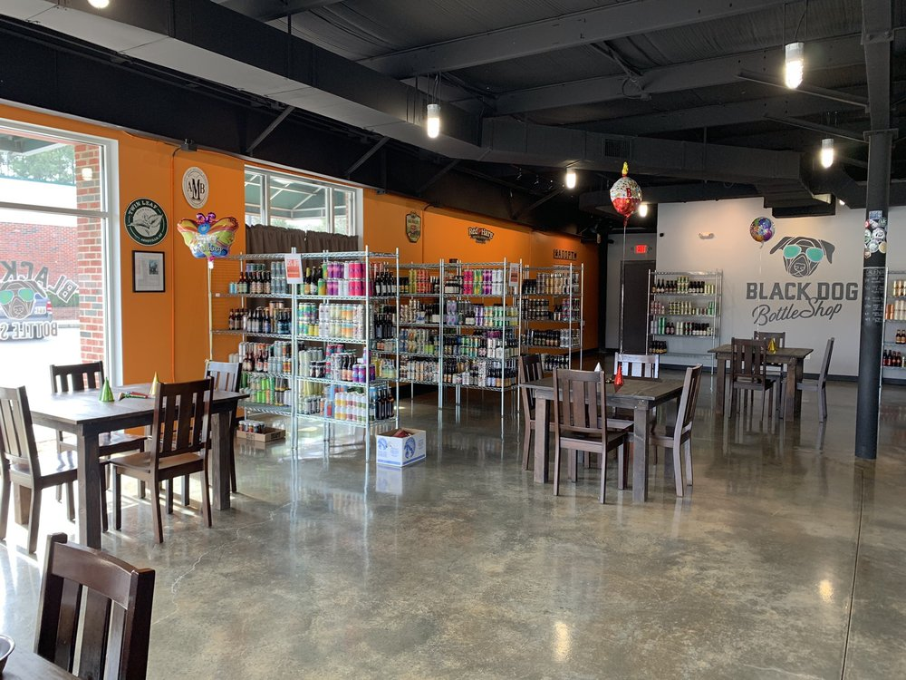 Black Dog Bottle Shop: 140 W Holly Springs Rd, Holly Springs, NC